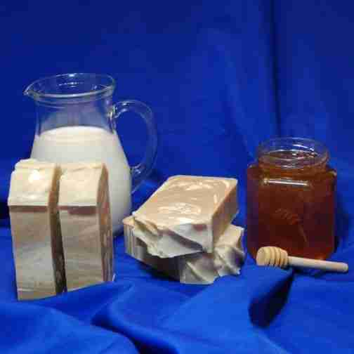 Our Cream and Honey Soap