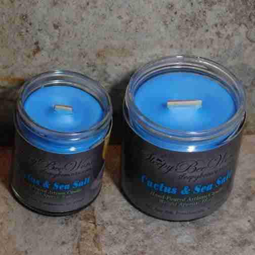 Cactus Sea Salt Candle