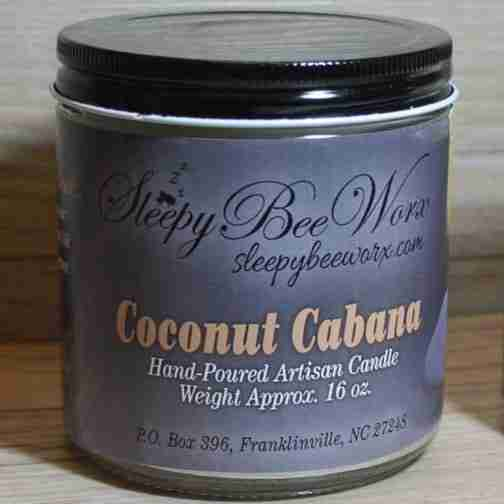 Our Coconut Cabana Candle