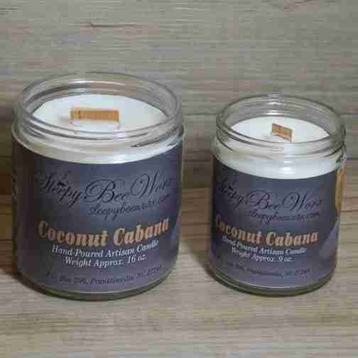Coconut Cabana Candle