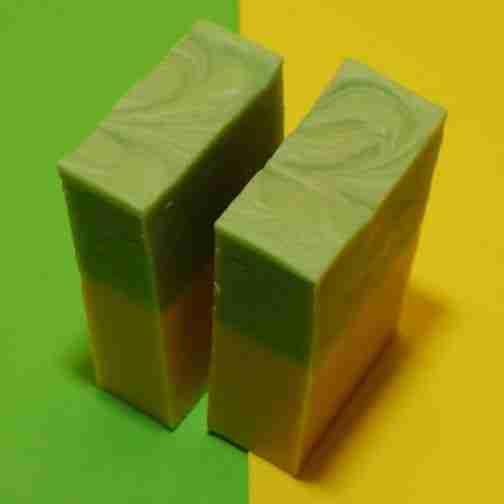 an Essential Oils Soap - Lemongrass Soap