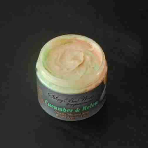 Our Cucumber Melon Whipped Soap