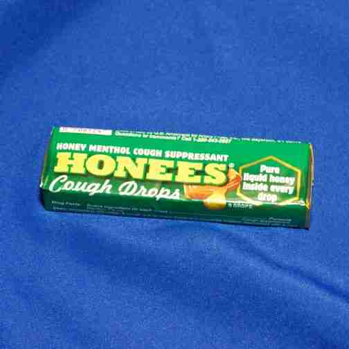 Honees Candy Honey Menthol Cough Suppressant