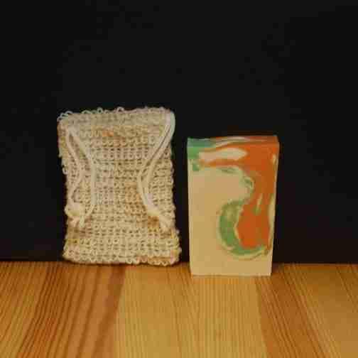 Ramie Cotton Soap Sack