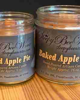 Our Baked Apple Pie Candle