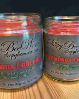 Our Christmas Cabernet Candle