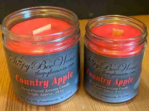Country Apple Candle