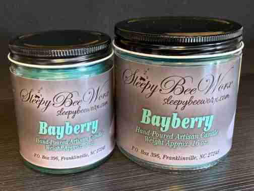 Our Bayberry Candle