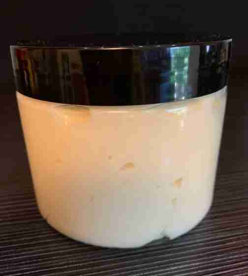 A Jar of Country Apple Whipped Body Butter