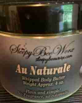 Our Au Naturale Whipped Body Butter