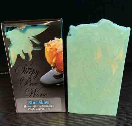 Blue Skies Artisan Soap