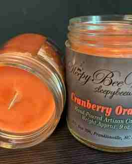 Our Cranberry Orange Candle