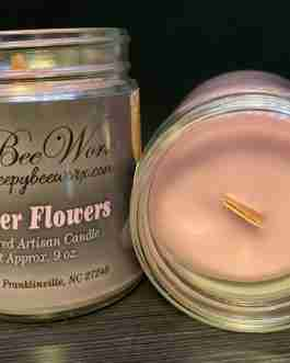 Our Lavender Flowers Candle