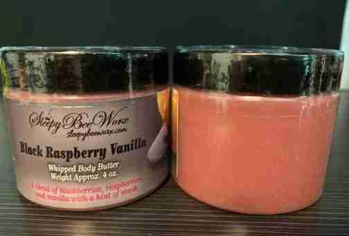 Black Raspberry Vanilla Whipped Body Butter