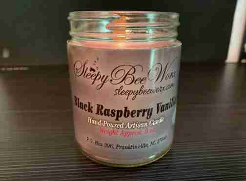 Our Black Raspberry Vanilla Candle