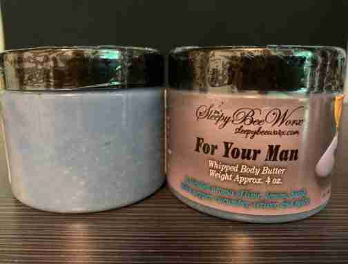 Luxurious and Creamy For Your Man Whipped Body Butter