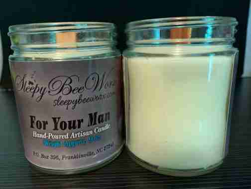 Our For Your Man Candle