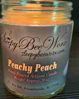 Our Peachy Peach Candle