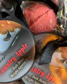 Our Country Apple Bath Bomb